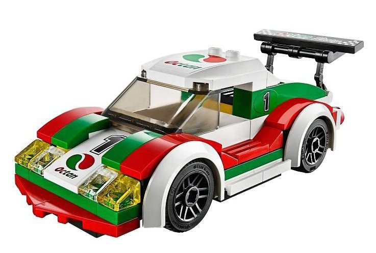 Lego city 60053 pas cher la voiture de course - Image voiture de course ...
