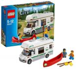 LEGO City 60057 Le camping-car et son canoë