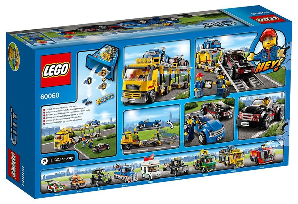 Camion City Voitures 60060 CherLe Lego Pas De Transport ymNn0wOPv8