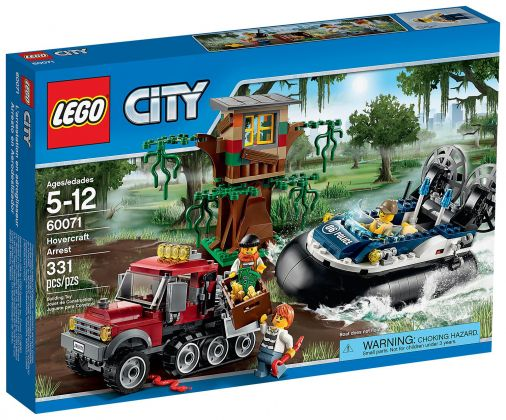 LEGO City 60071 L'arrestation en hydroglisseur