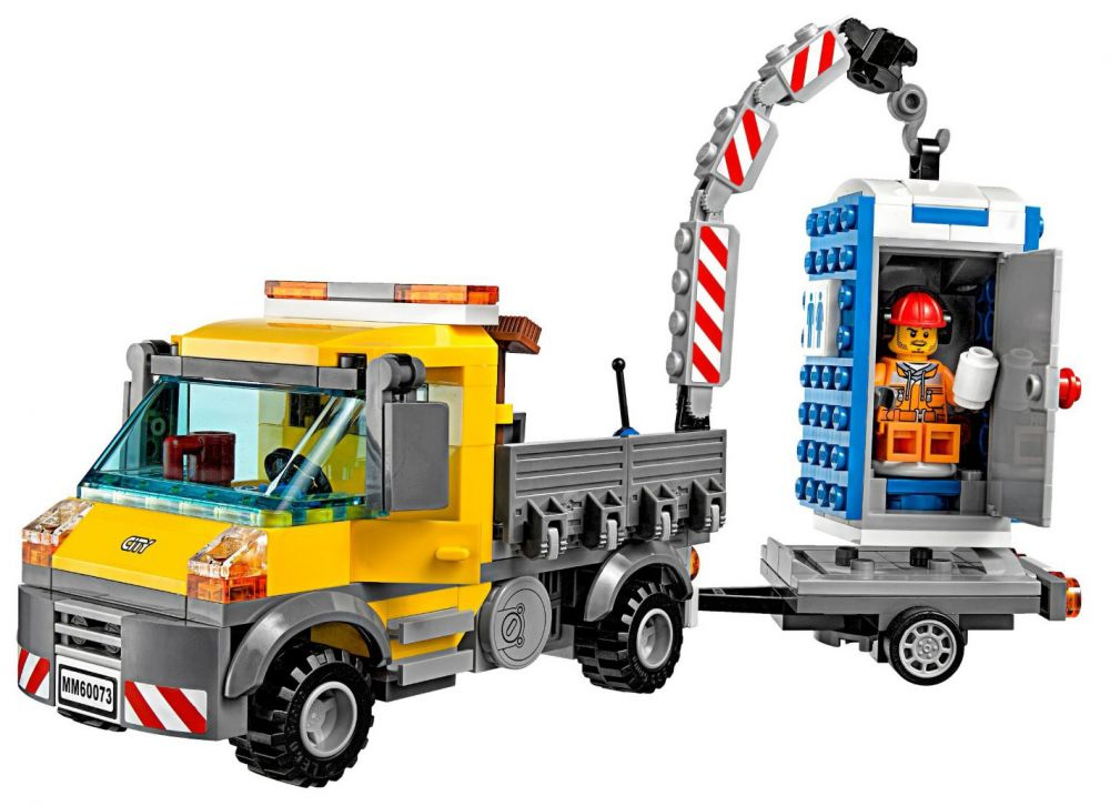 lego city 60073 pas cher le camion grue. Black Bedroom Furniture Sets. Home Design Ideas
