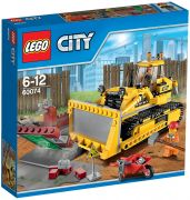 LEGO City 60074 Le bulldozer