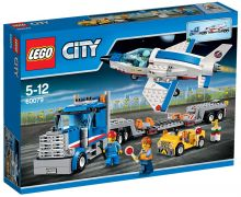 LEGO City 60079 Le transporteur d'avion