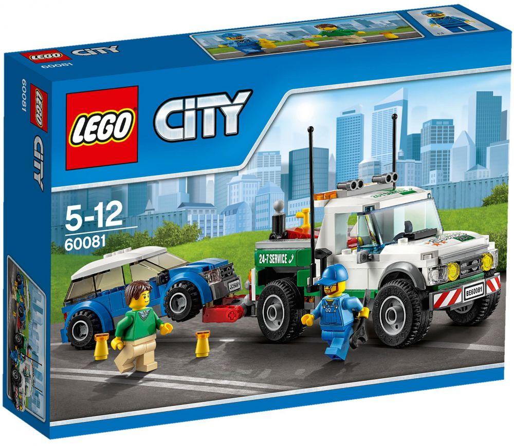 lego city 60081 pas cher le pick up d panneuse. Black Bedroom Furniture Sets. Home Design Ideas
