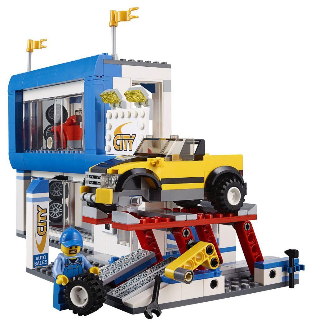 Lego City Le Centre Ville Pas Cher