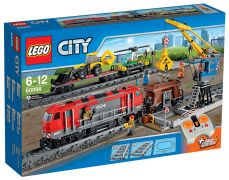 LEGO City 60098 Le train de marchandises rouge
