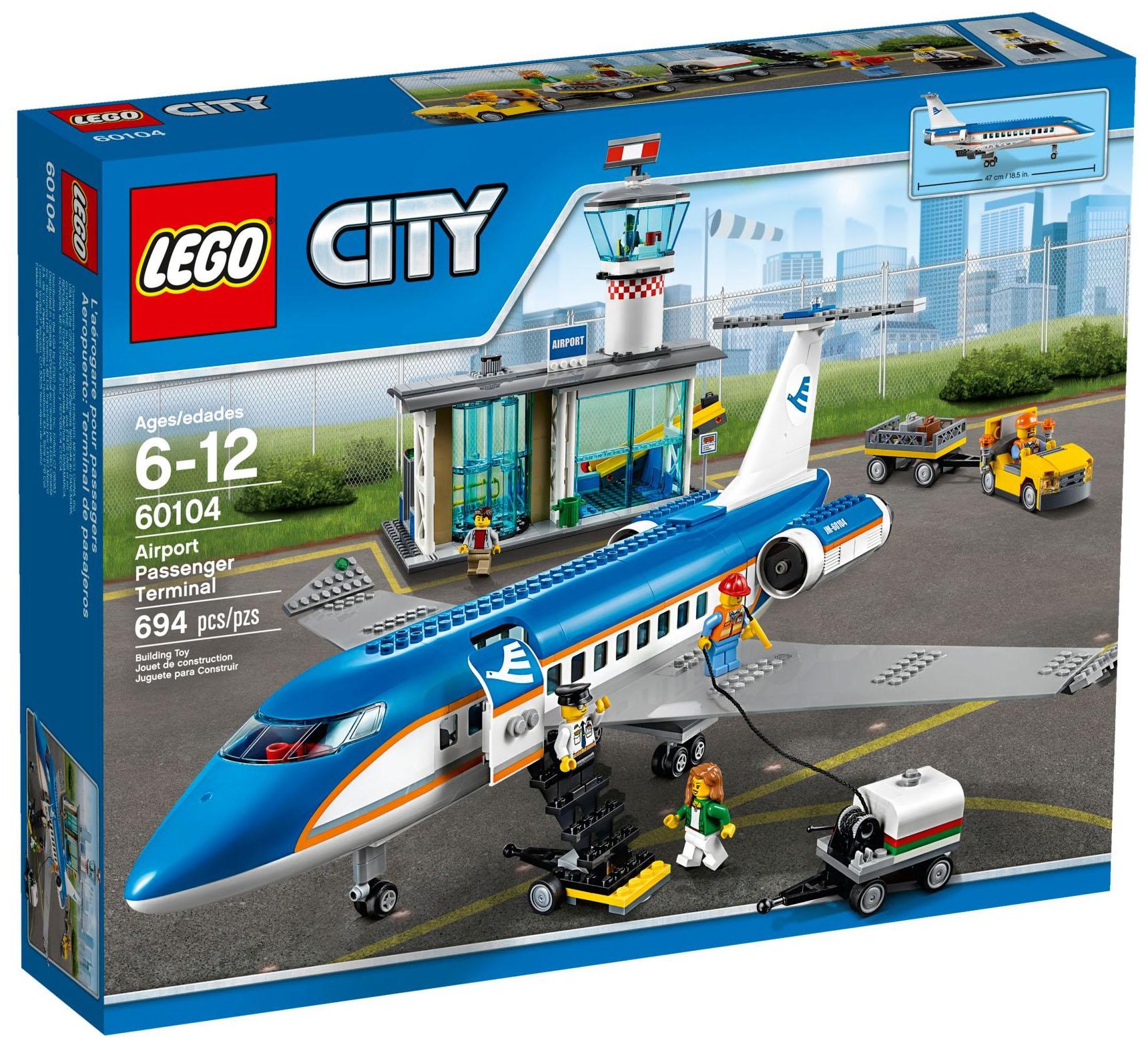 Lego city 60104 pas cher le terminal pour passagers - Image lego city ...
