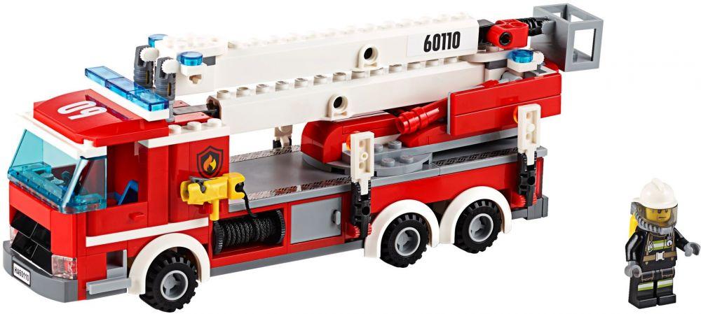 lego city 60110 la caserne des pompiers - Lego City Pompier
