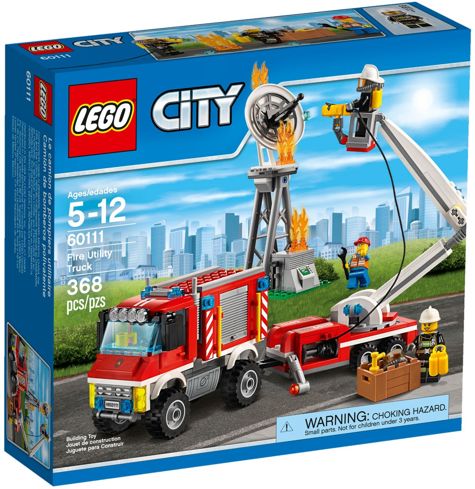 Lego city 60111 pas cher le camion d 39 intervention des pompiers - Lego city police camion ...