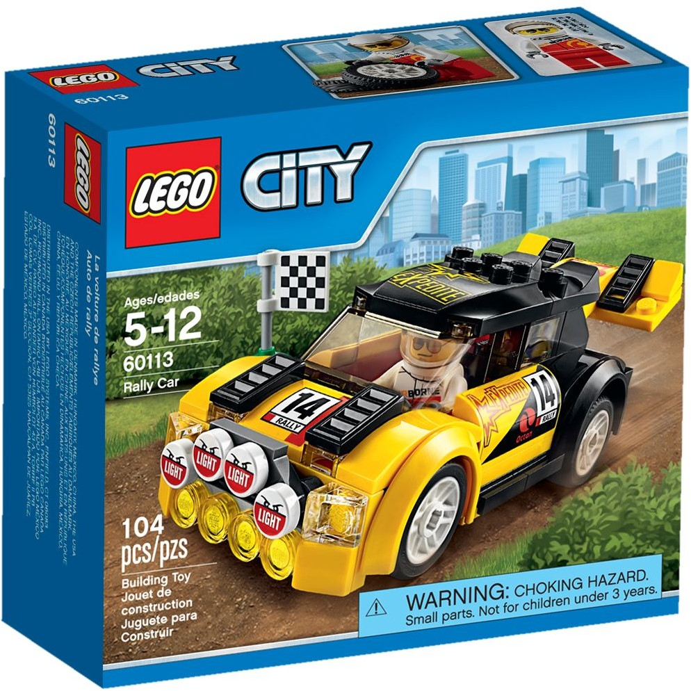 lego city 60113 pas cher la voiture de rallye. Black Bedroom Furniture Sets. Home Design Ideas