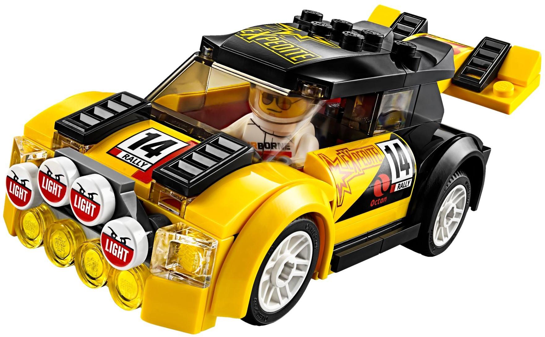 lego city 60113 pas cher la voiture de rallye. Black Bedroom Furniture Sets. Home Design Ideas