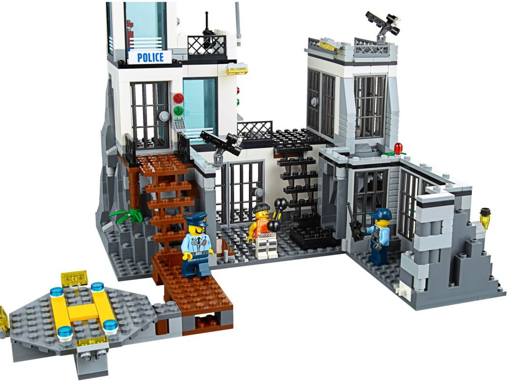 lego city 60130 pas cher la prison en haute mer. Black Bedroom Furniture Sets. Home Design Ideas