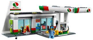 60132 la station service de lego. Black Bedroom Furniture Sets. Home Design Ideas