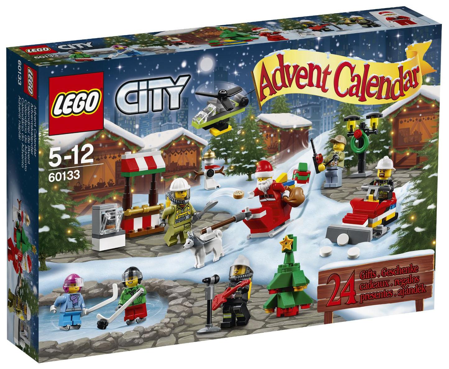 Lego saisonnier 60133 pas cher le calendrier de l 39 avent - Calendrier de l avent pas cher ...