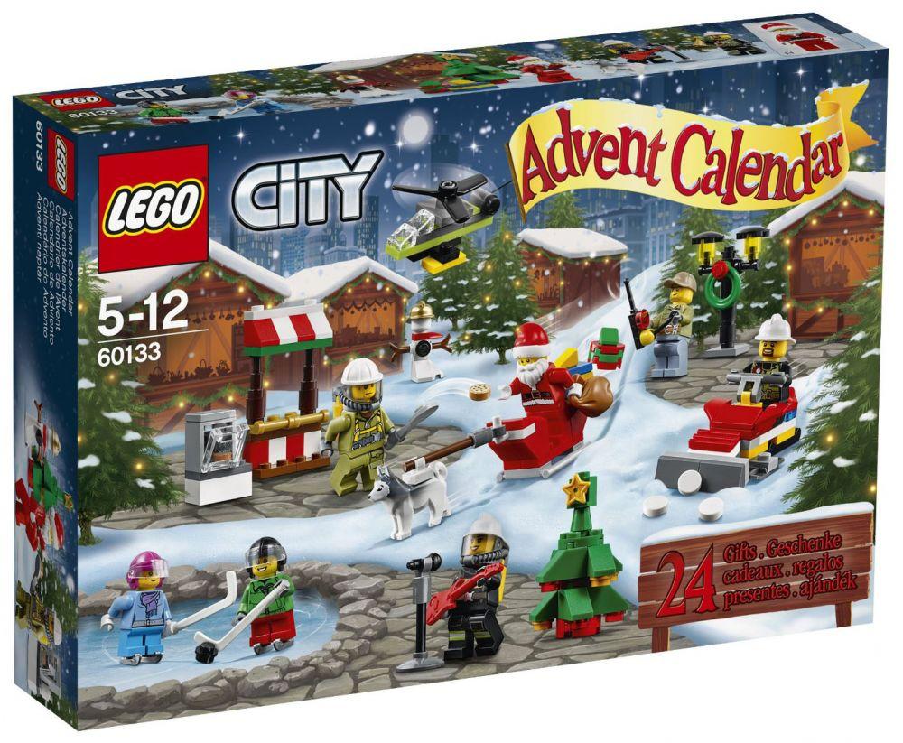 Lego saisonnier 60133 pas cher le calendrier de l 39 avent - Calendrier de l avent en bois pas cher ...