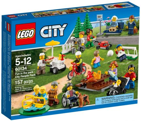 LEGO City 60134 Le parc de loisirs - Ensemble de figurines