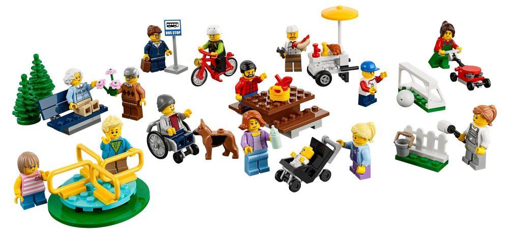 Lego city 60134 pas cher le parc de loisirs ensemble - Comment faire une ville lego city ...
