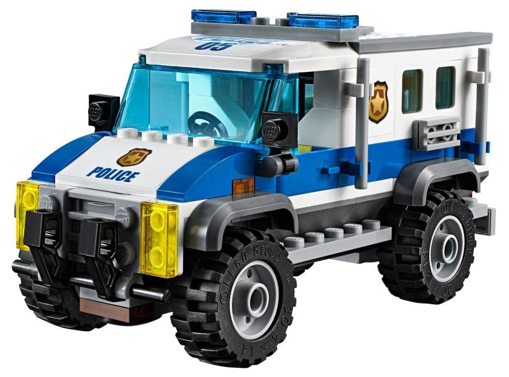 Lego city 60140 pas cher le cambriolage de la banque - Lego city camion police ...