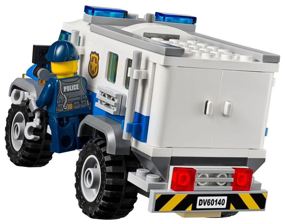Lego city 60140 pas cher le cambriolage de la banque - Lego camion police ...