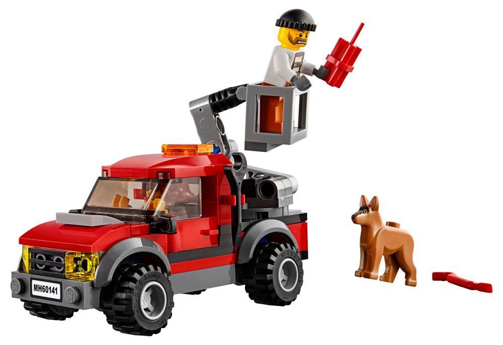 Lego city 60141 pas cher le commissariat de police - Camion de police lego city ...