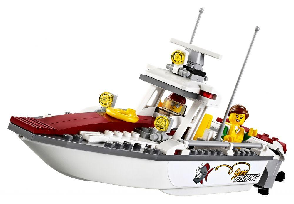 lego city 60147 le bateau de pche
