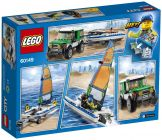 LEGO City 60149 Le 4x4 avec catamaran