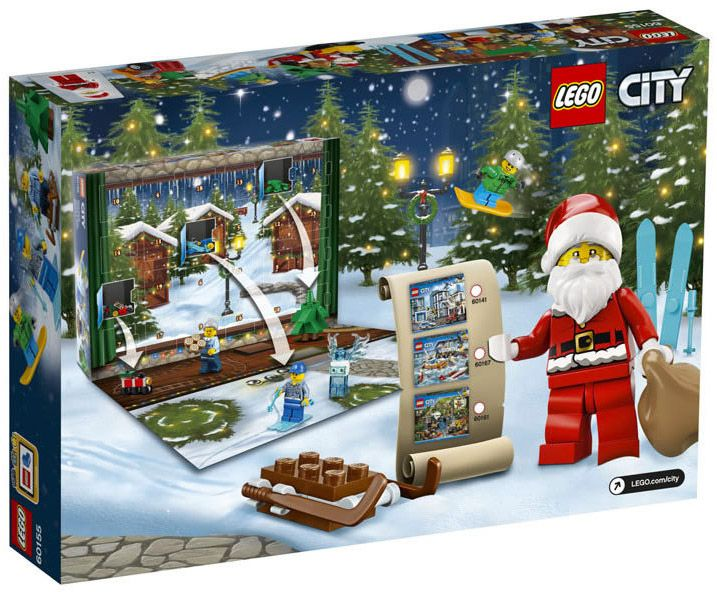 lego city 60155 pas cher calendrier de l 39 avent lego city 2017. Black Bedroom Furniture Sets. Home Design Ideas