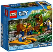 LEGO City 60157 - Ensemble de démarrage de la jungle pas cher