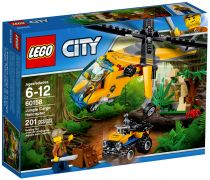 LEGO City 60158 L'hélicoptère cargo de la jungle