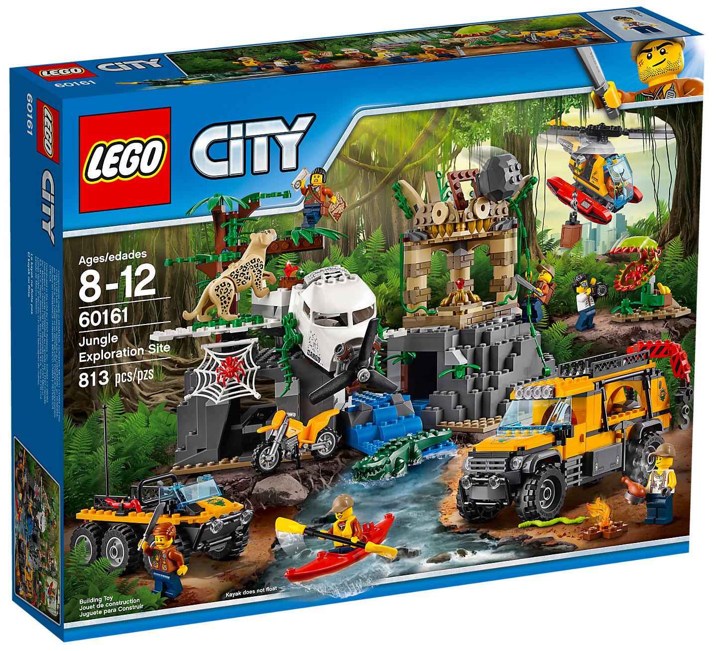 Lego city 60161 pas cher le site d 39 exploration de la jungle - Le site le moins cher ...
