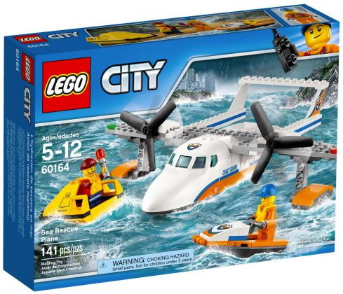 LEGO City 60164 L'hydravion de secours en mer