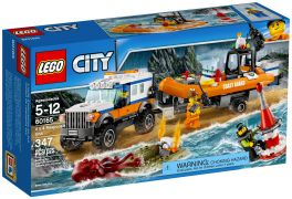 LEGO City 60165 L'unité d'intervention en 4x4