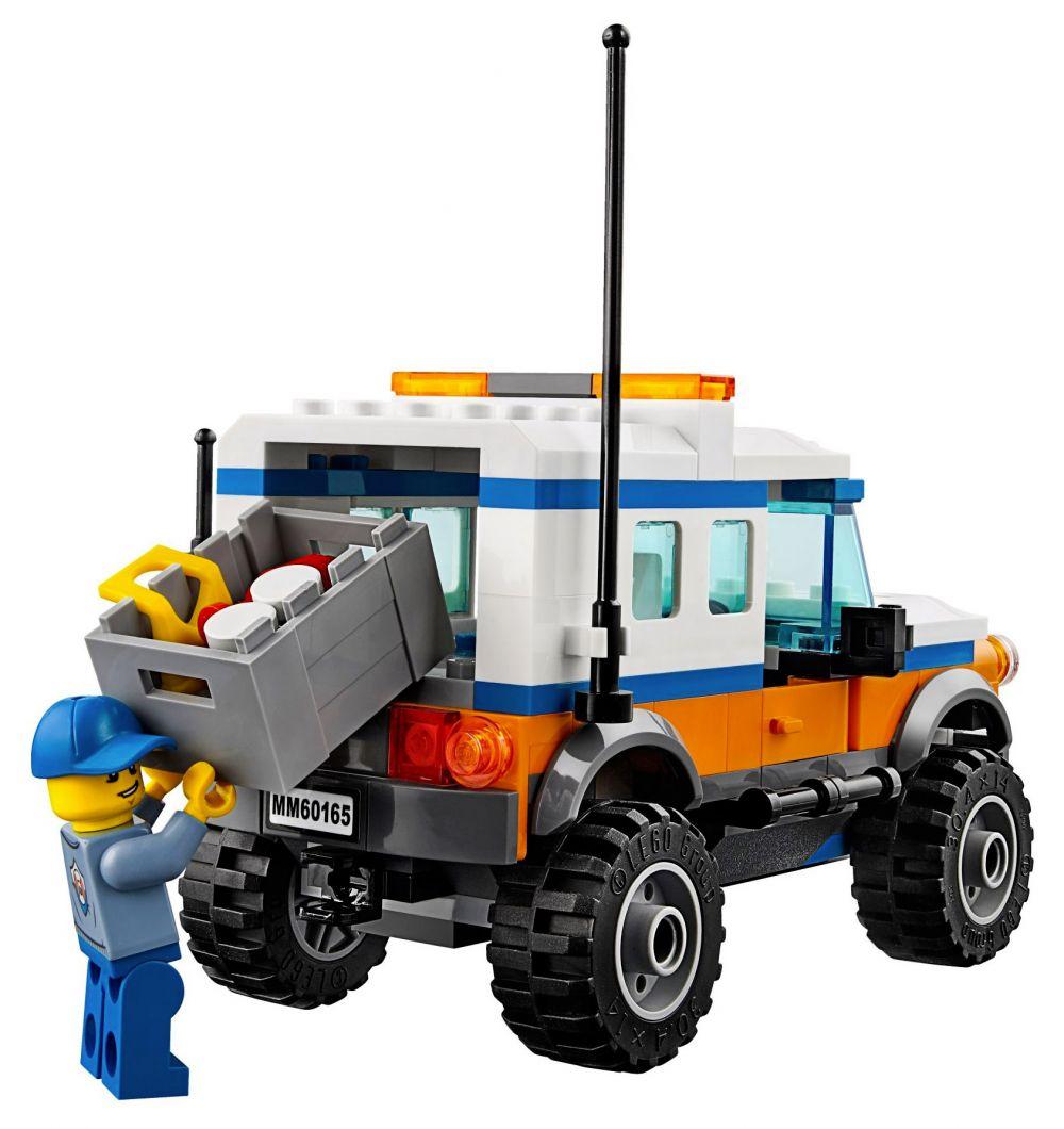 Meilleur 4x4 2017 >> LEGO City 60165 pas cher - L'unité d'intervention en 4x4