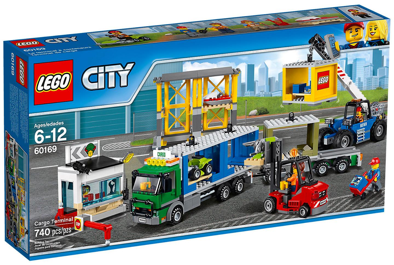 lego city 60169 pas cher le terminal conteneurs. Black Bedroom Furniture Sets. Home Design Ideas