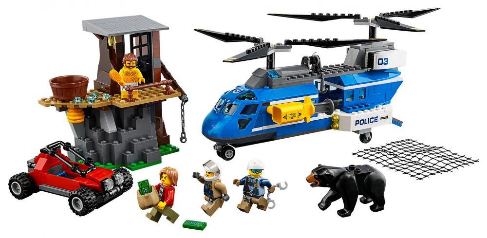 lego city 60173 pas cher l 39 arrestation dans la montagne. Black Bedroom Furniture Sets. Home Design Ideas