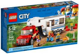 LEGO City 60182 Le pick-up et sa caravane