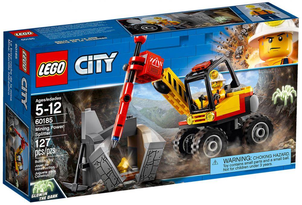60185 Lego Marteau L'excavatrice Piqueur Avec City 43RqL5Aj