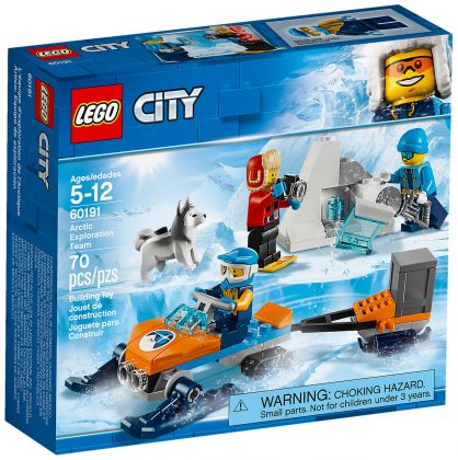 LEGO City 60191 Les explorateurs de l'Arctique
