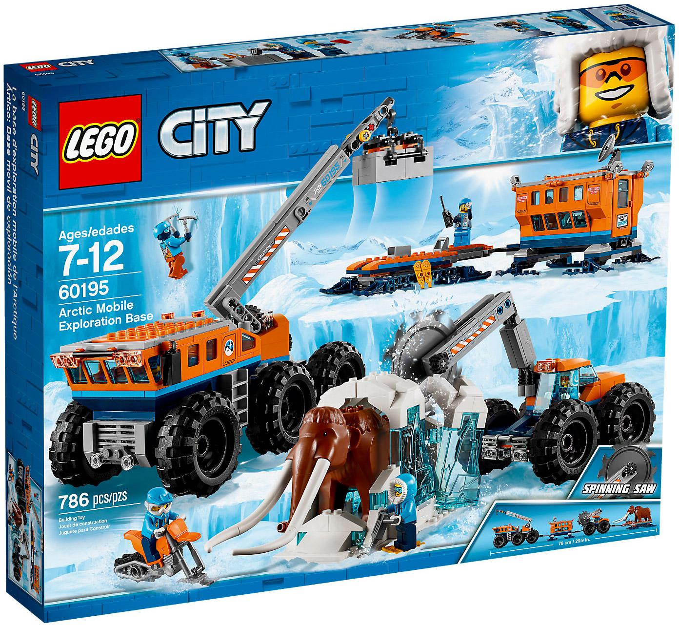 City Base 60195 Arctique La D'exploration Mobile Lego D2WEHIe9bY