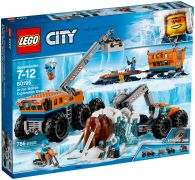 LEGO City 60195 La base arctique d'exploration mobile