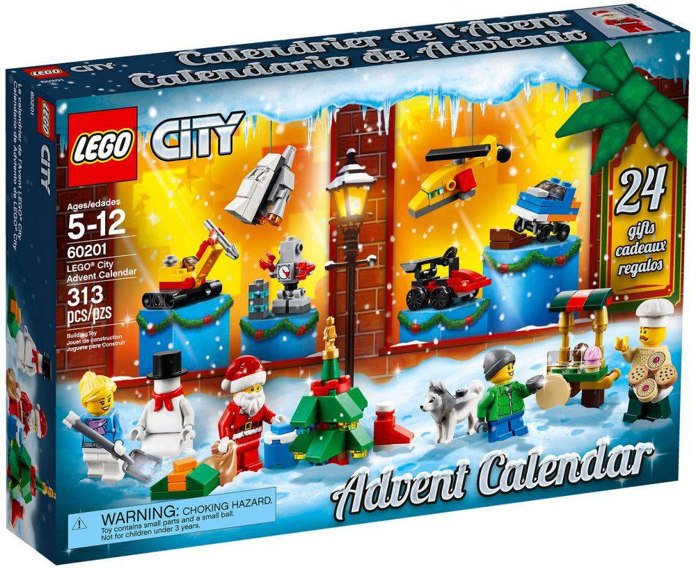Calendrier Lego City.Lego City 60201 Calendrier De L Avent Lego City 2018