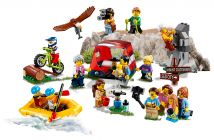 LEGO City 60202 Ensemble de figurines - Les aventures en plein air