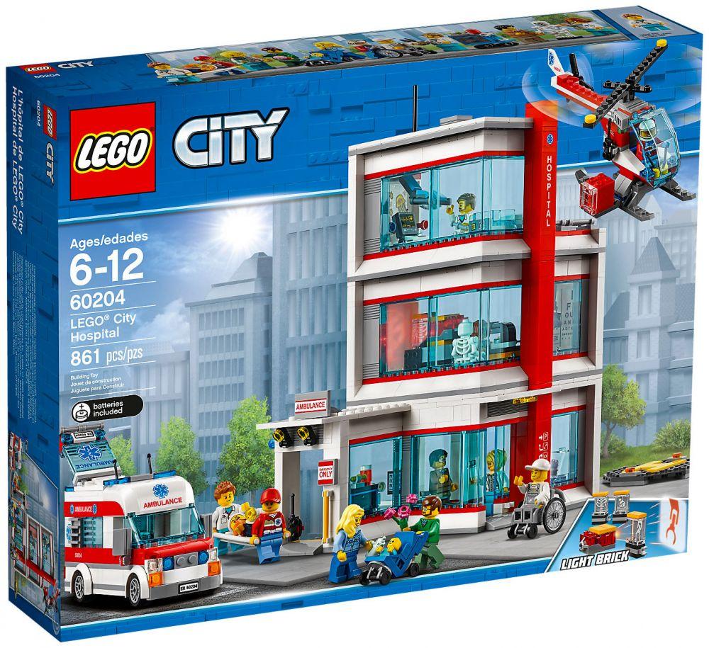 60204 Pas Lego Pas CherL'hôpital Lego City CherL'hôpital City 60204 uT3FK1Jlc