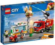 LEGO City 60214 L'intervention des pompiers au restaurant de hamburgers