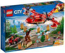 LEGO City 60217 L'avion des pompiers