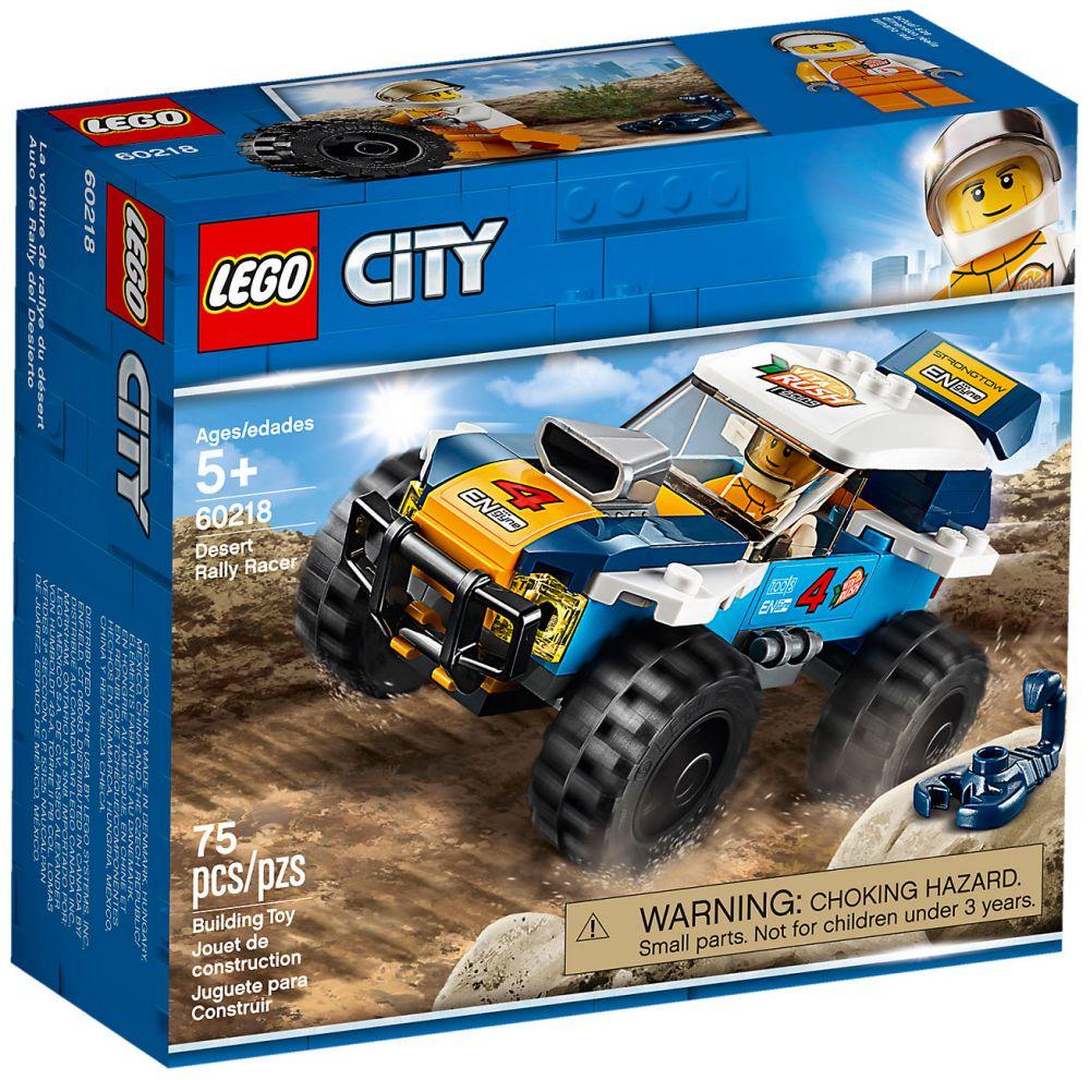 City Lego 60218 Désert La Du Voiture De Rallye Nvwm8n0