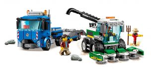 LEGO City 60223 Le transport de l'ensileuse