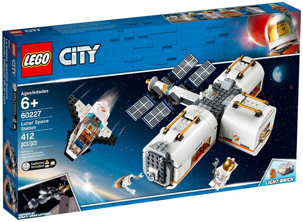 La Spatiale Lunaire City 60227 Station Lego HY9WED2I