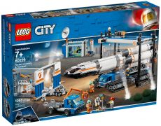 LEGO City 60229 Le transport de la fusée