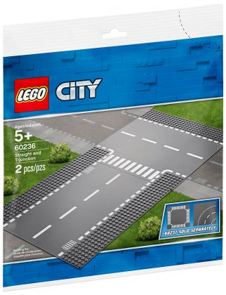LEGO City 60236 Droite et intersection